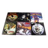 Deep Purple Related LPs, thirty-one albums by Deep Purple related bands comprising Gillan / Ian