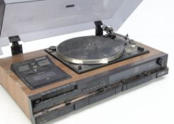 Hitachi Stereo Music Centre, Hitachi Music Centre model SDT-2690R, belt drive record deck,