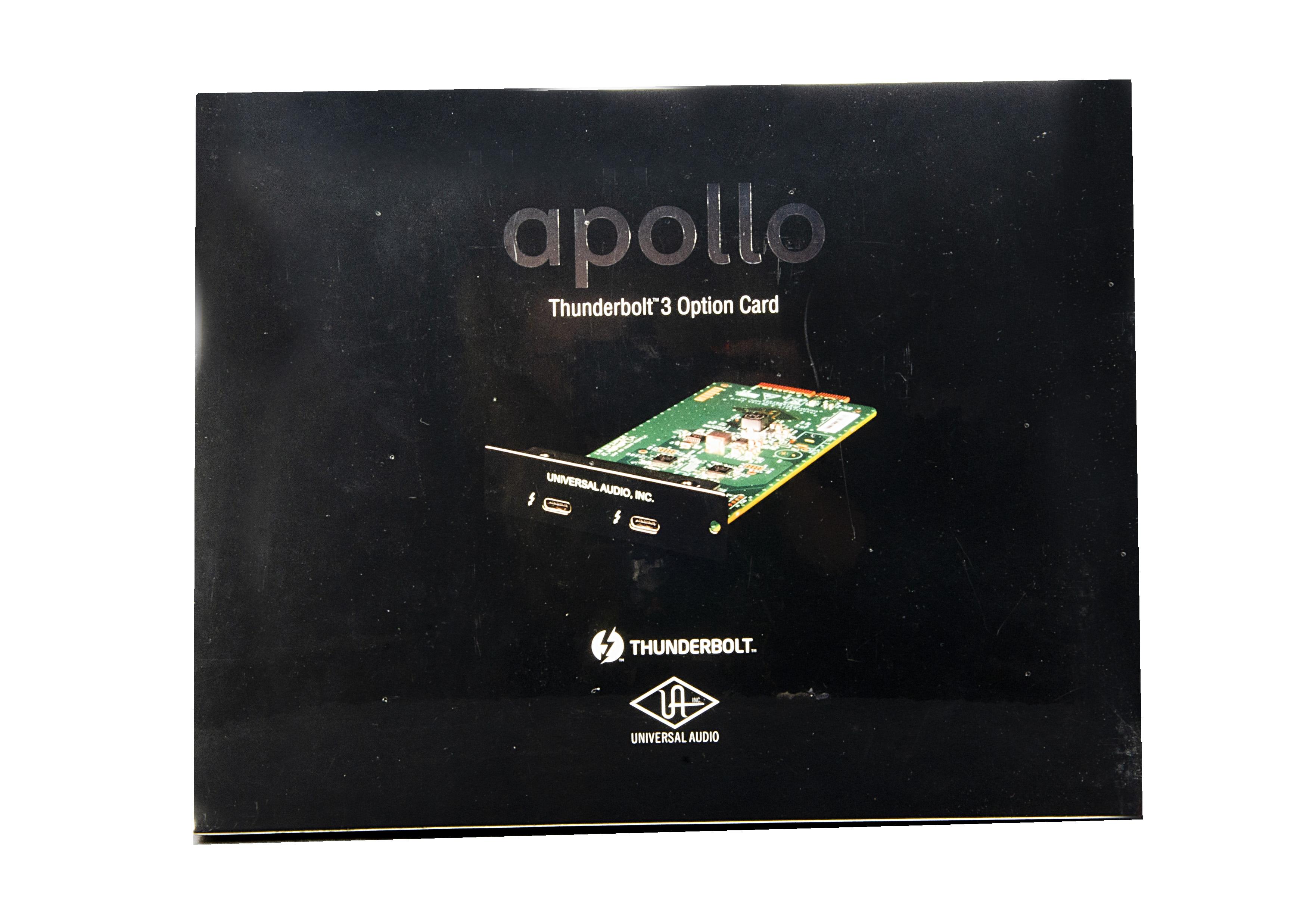 Apollo Option Card, unopened Thunderbolt 3 Universal audio option card