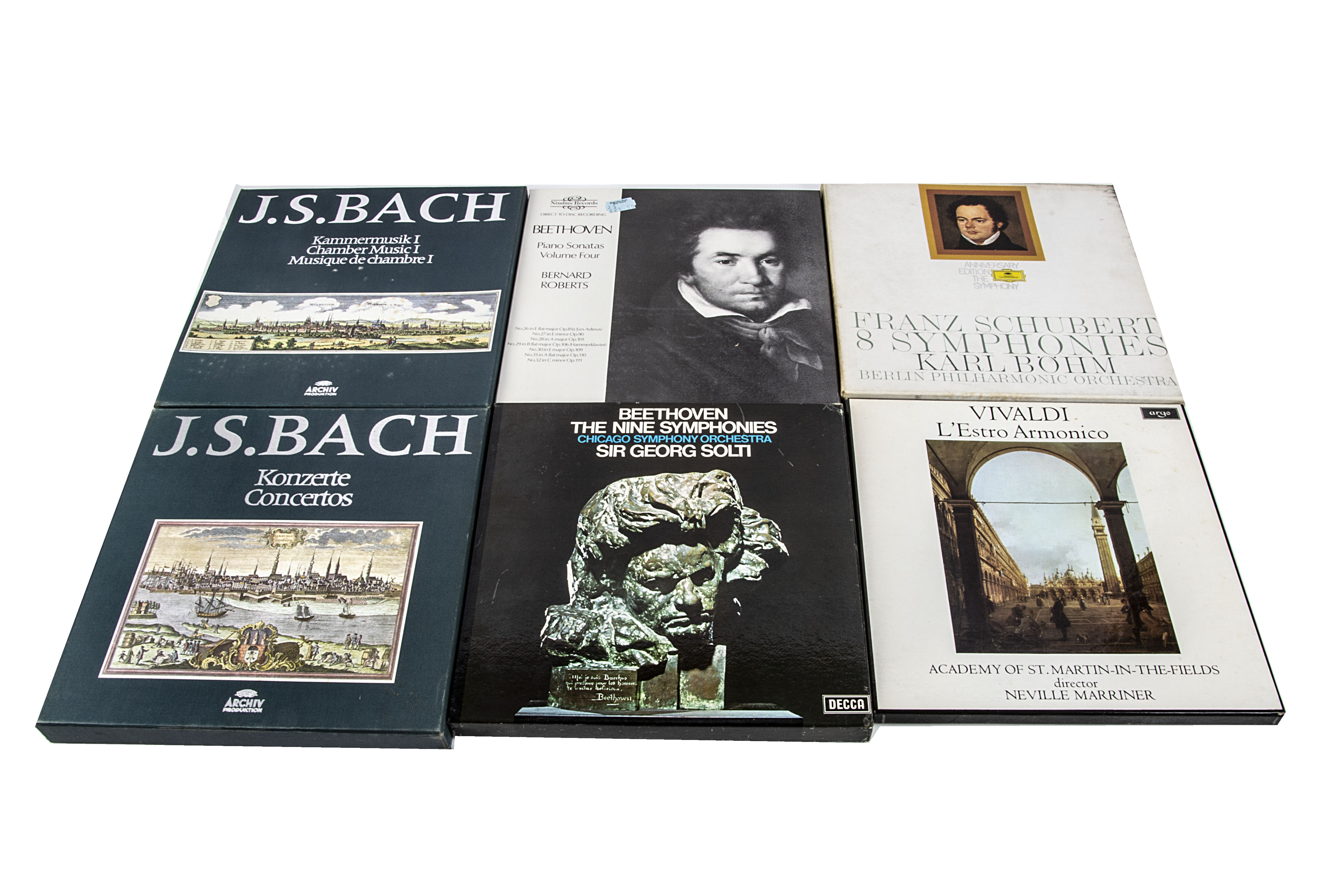 Classical Box Sets, nine Box Sets comprising Beethoven - Piano Sonatas Vol 4 (Nimbus), Beethoven -