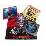 Nicko McBrain Signed Records / CD, four items all signed by Nicko comprising Bring Your Daughter