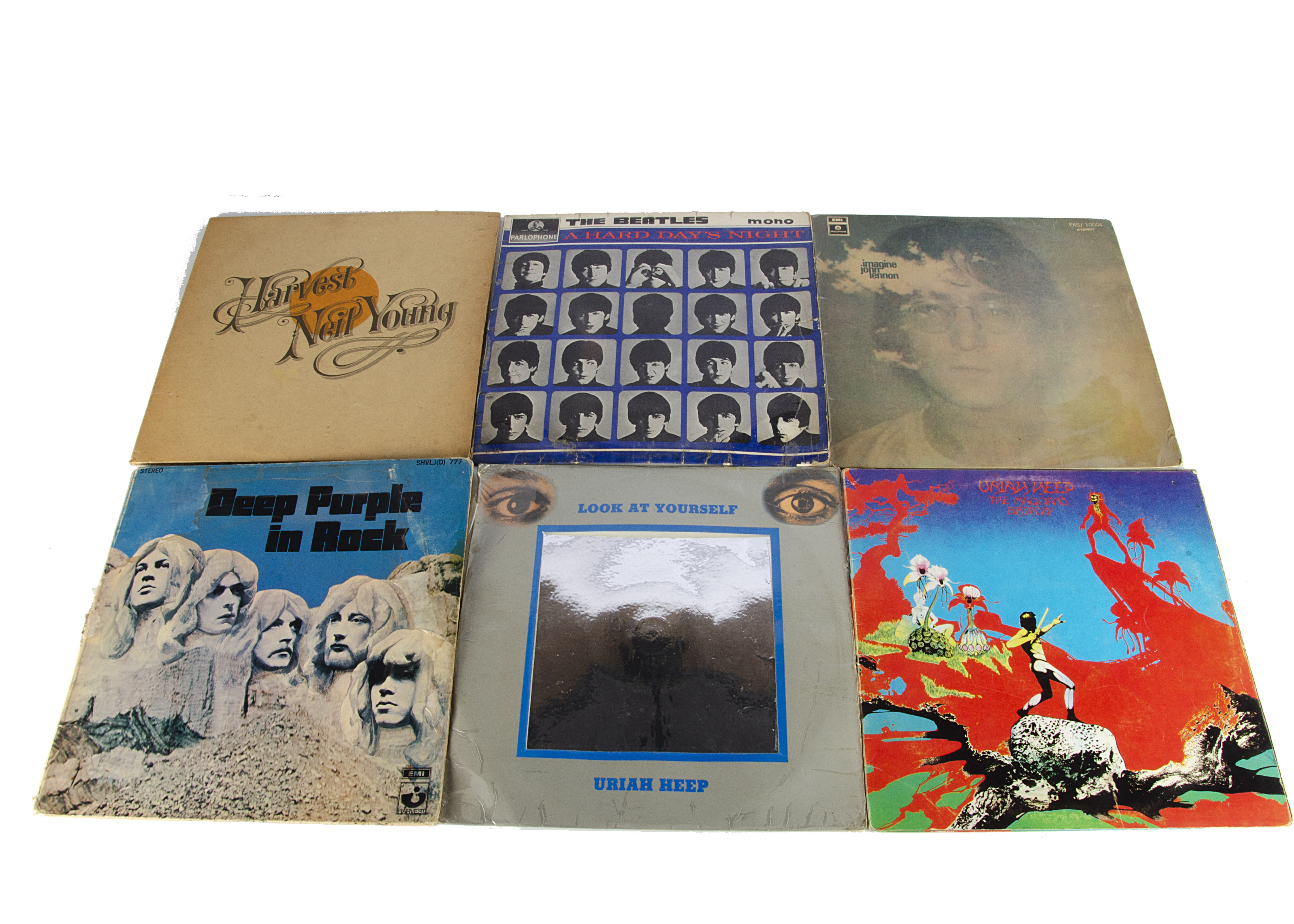 Sixties / Rock LPs, Sixteen albums, mainly all South African releases with a couple of USA