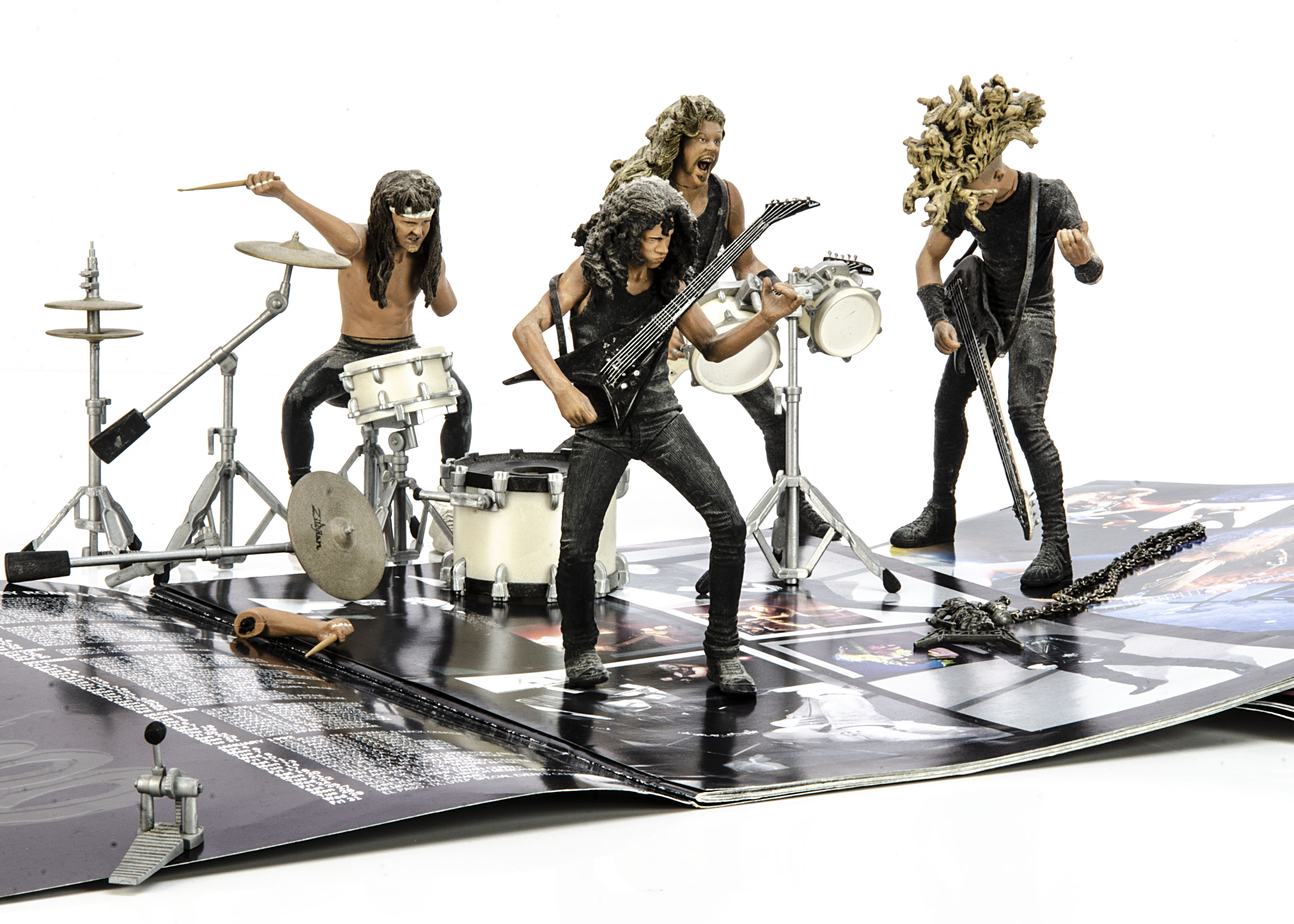 Metallica Memorabilia, collection of Metallica items comprising Wherever I May Roam and World