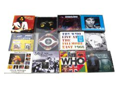 Rock CDs, approximately forty CDs of mainly Rock with artists including Radiohead, Pink Floyd, the