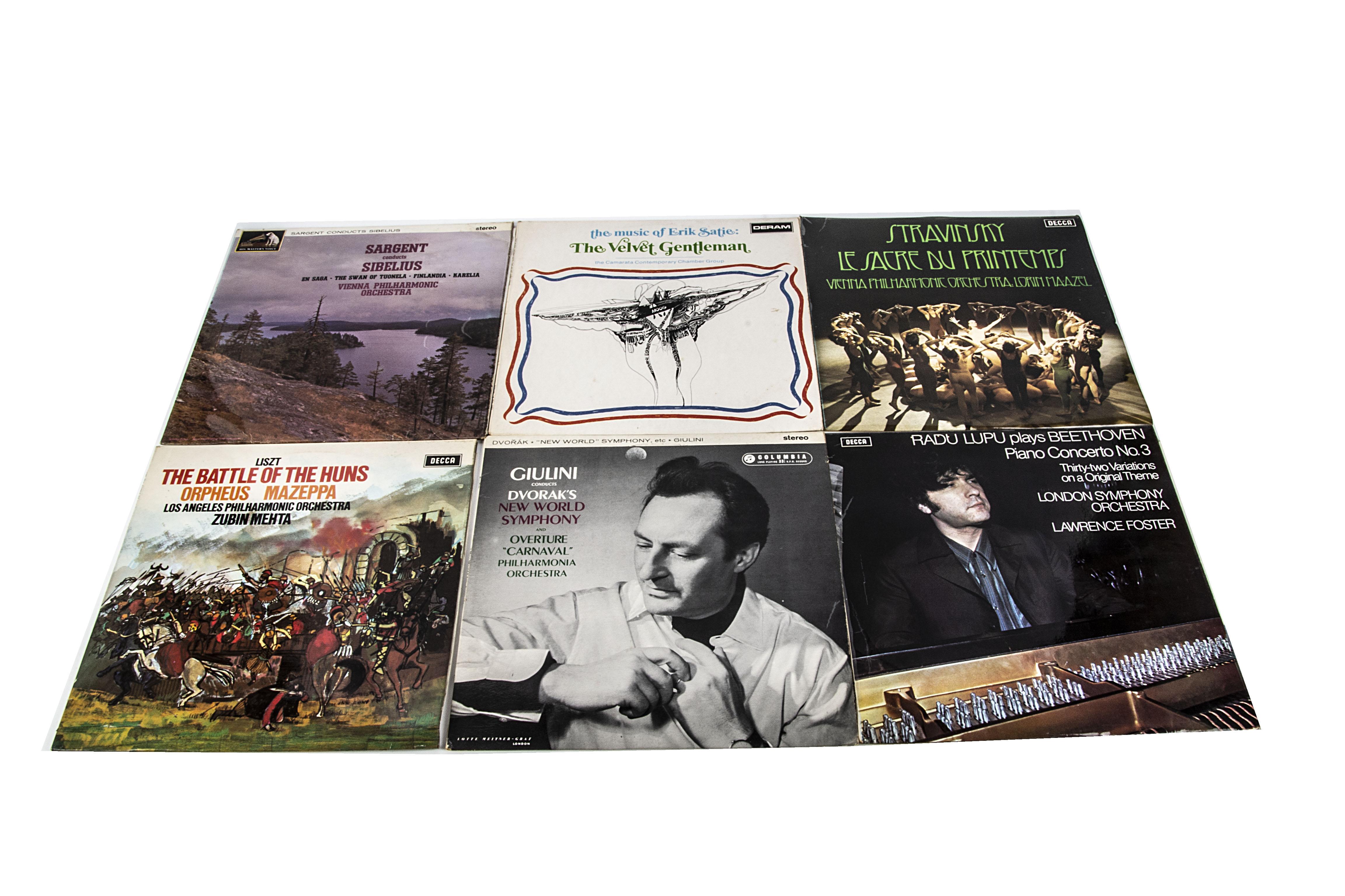 Classical LPs, approximately one hundred and seventy albums of mainly Classical with labels