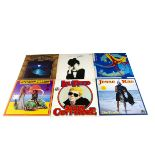 LP Records, approximately one hundred and eighty LPs of various genres with artists including Lou