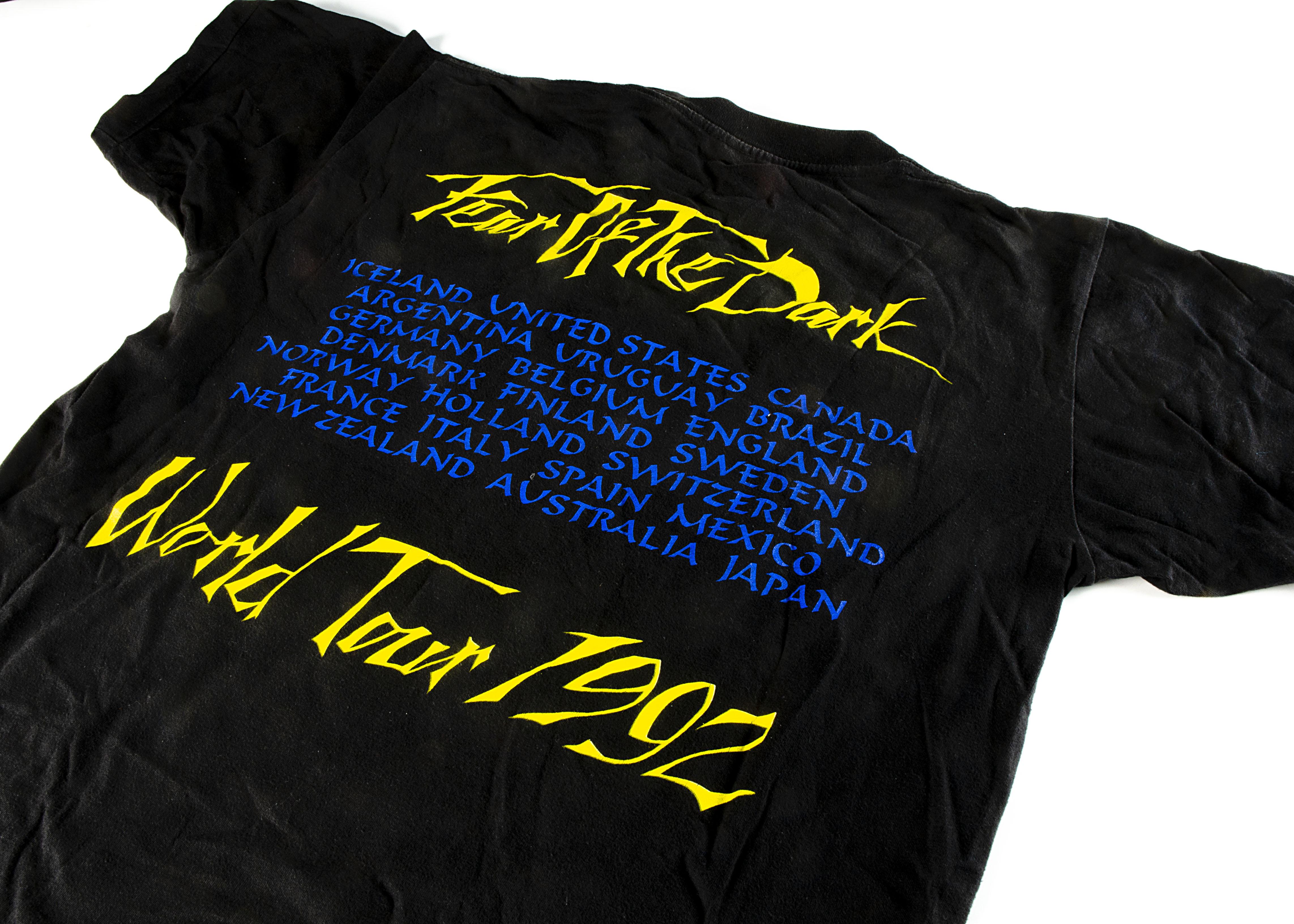 Iron Maiden 'Fear of the Dark' 'T' Shirt, Iron Maiden 'T' shirt - Fear of the Dark World Tour - Image 2 of 2