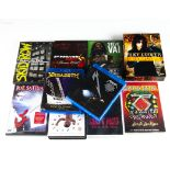 Rock and Metal DVDs / Blue Rays / Videos, approximately thirty-three of mainly Rock and Metal