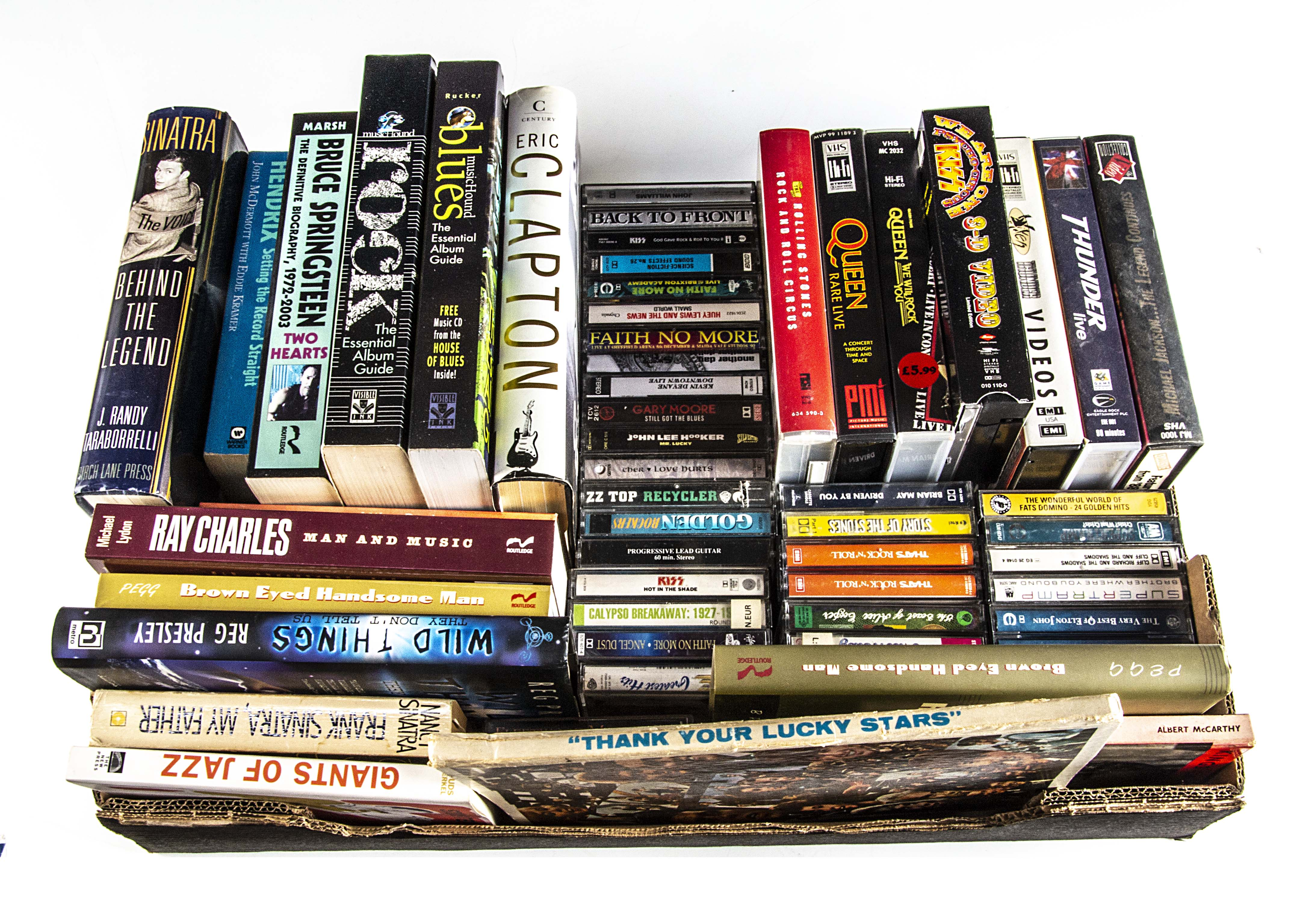 Music Books / Videos / Cassettes, large collection of fifteen books, approximately thirty-five - Image 2 of 2