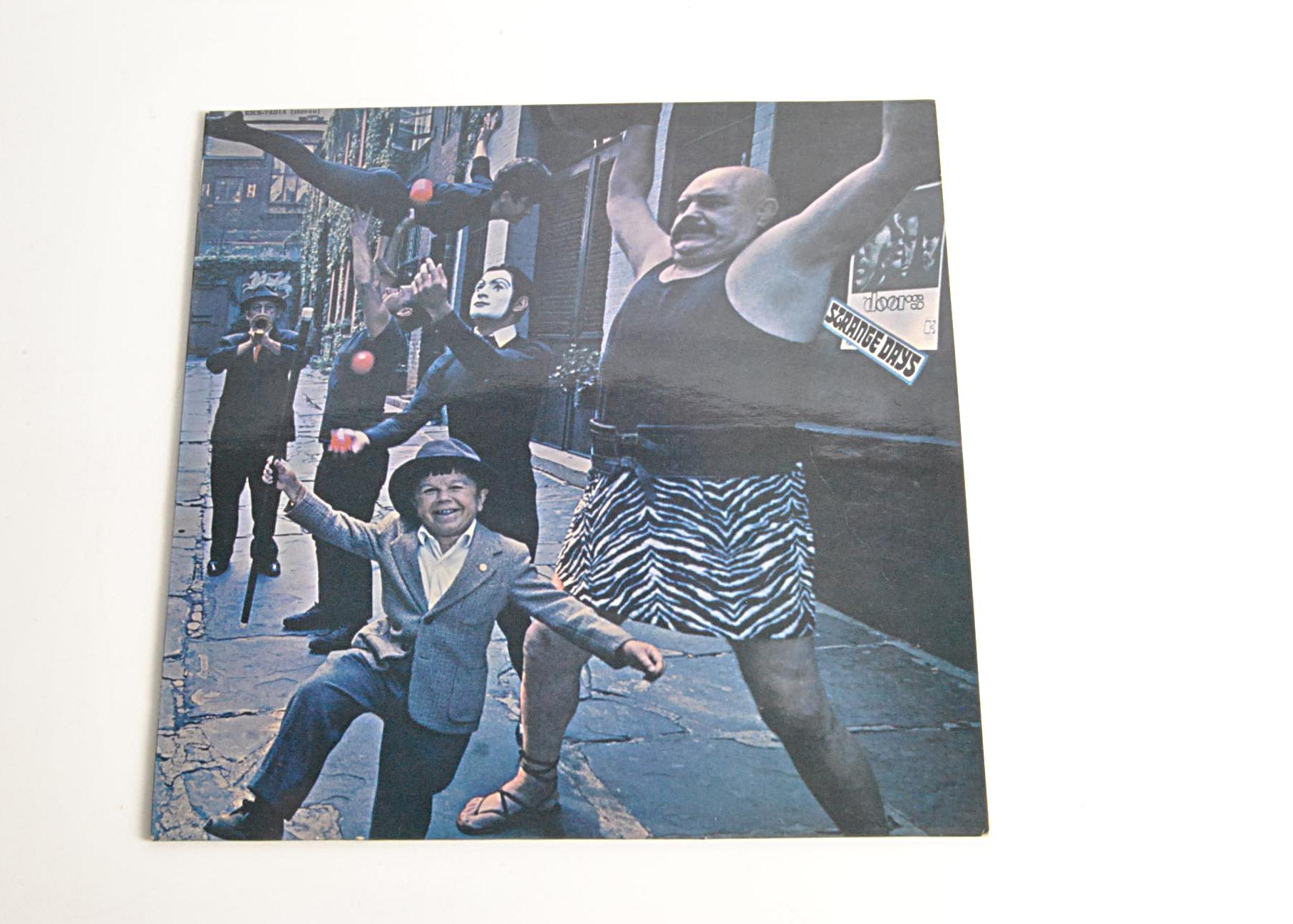 The Doors LP, Strange Days - Original UK Stereo Release 1967 on Elektra (EKS 74014) - Fully