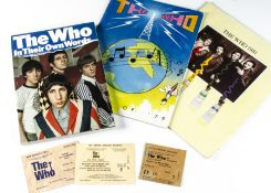 The Who Concert Programmes / Tickets, collection of tickets and programmes comprising Summer of 79