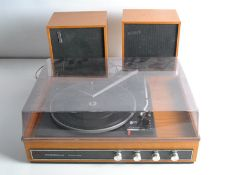 Record Players / Music Centre, a Stereosound Minstrel record deck (Garrard 2025T) with speakers plus