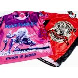 Iron Maiden Sport Shirts, a cycling style shirt (XL) zipped Trooper on front with 'Charged with