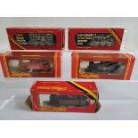 Five Hornby OO gauge locomotives, R.156, R.760, R.173, R.041, R.052, all boxed.