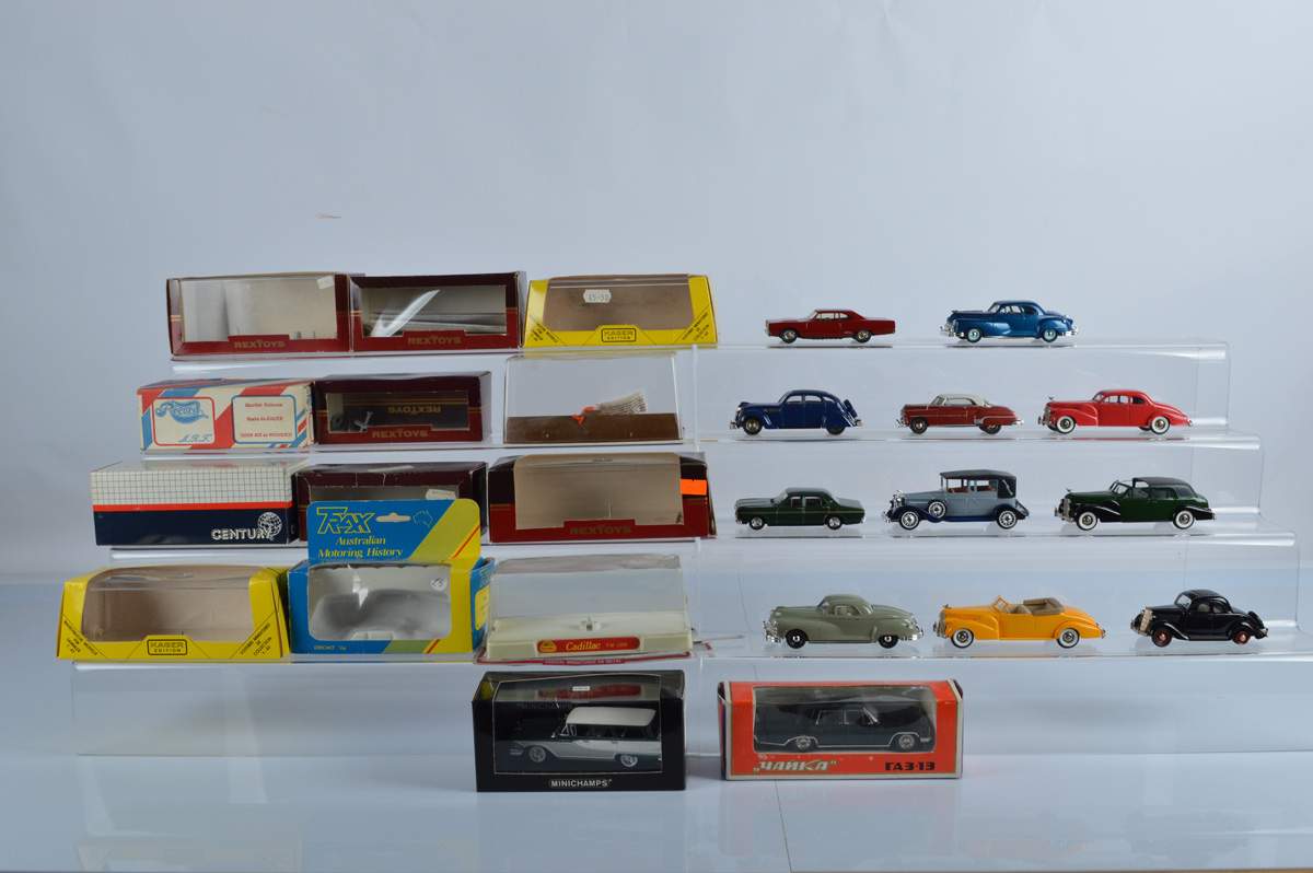 A mixed lot of boxed diecast including, Century 11 Plymouth GTX 1969, Rex Toys, Kager Edition,