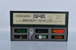 A Lledo Days Gone Classic Brewery Vehicles Collection limited edition set, CB1006, boxed.