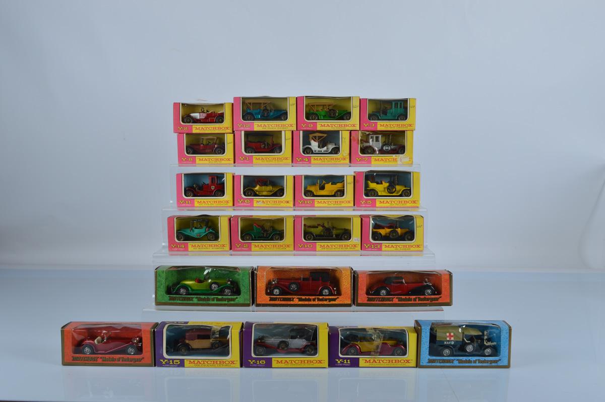 Twenty Four Matchbox Models of Yesteryear, all boxed.