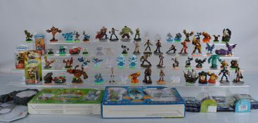 A good collection of Disney Infinite and Skylanders figures and accessories, including boxed
