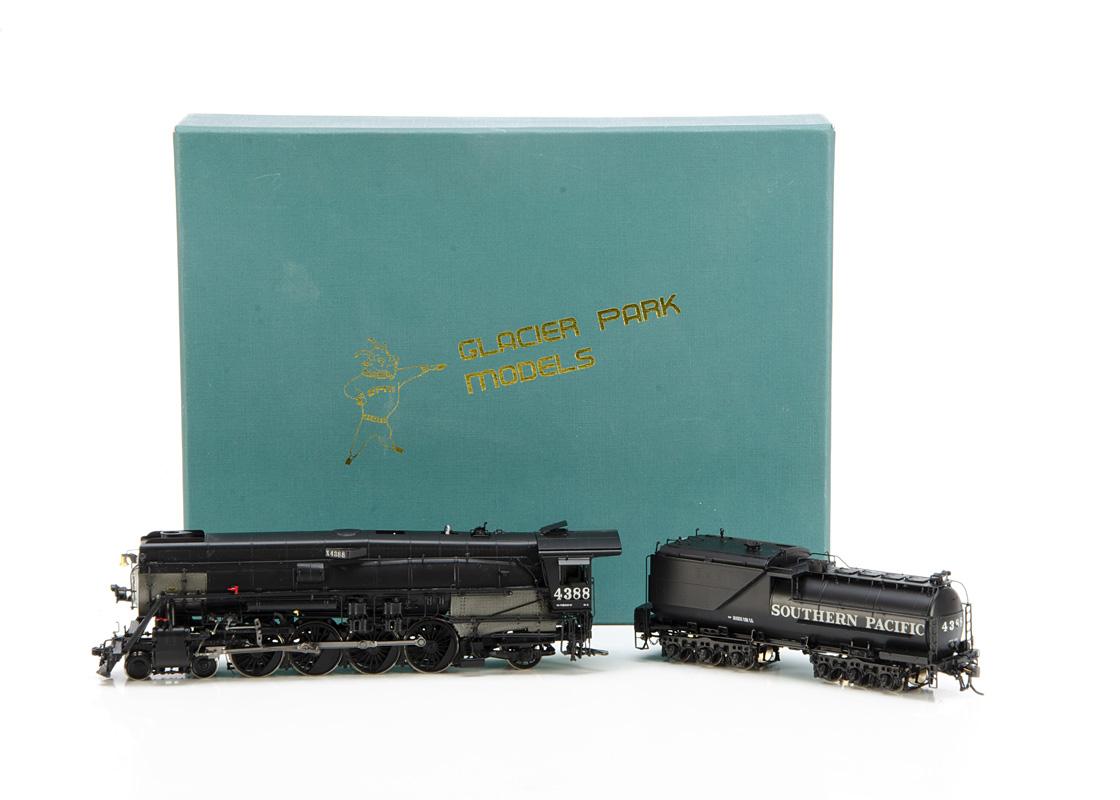 Glacier Park Models brass American HO Gauge Steam Locomotive by Boo-Rim Precision Models Korea, a
