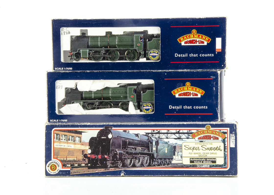 Bachmann 00 Gauge SR olive green Lord Nelson and N class Locomotives and Tenders, 31-404 Lord Nelson