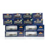 Bachmann 00 Gauge GWR and SR wagons, GWR, 45 Ton bogie well wagon (4), Brake Vans (2), Fruit Vans (