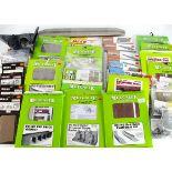 Metcalfe and Superquick 00 Gauge card Kits, Superquick unopened, two road Locomotive Shed, Island