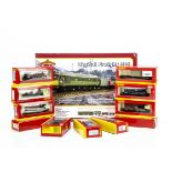 Hornby 00 Gauge Goods Rolling Stock, including various Tank wagons (4), Lowmac (2), GWR Shunters
