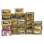 OO Gauge Mainline and Dapol Private Owner Goods Wagons, a boxed group of tank wagons, plank wagons