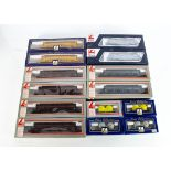 Lima HO Gauge Goods Wagons, a boxed collection comprises L302910 Large Hopper Wagons yellow Nacco
