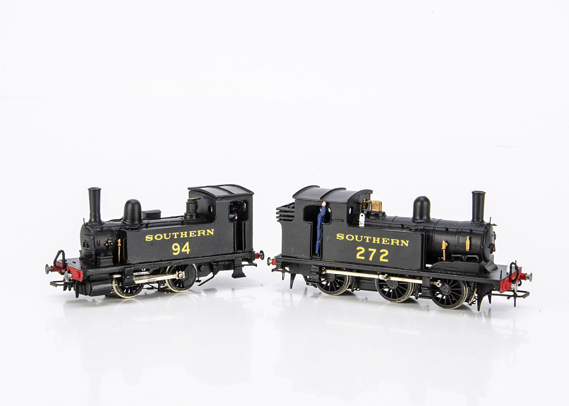 A pair of Kit-built 00 Gauge ex-LSWR B4 and G6 class Tank Locomotives, both from South-Eastern