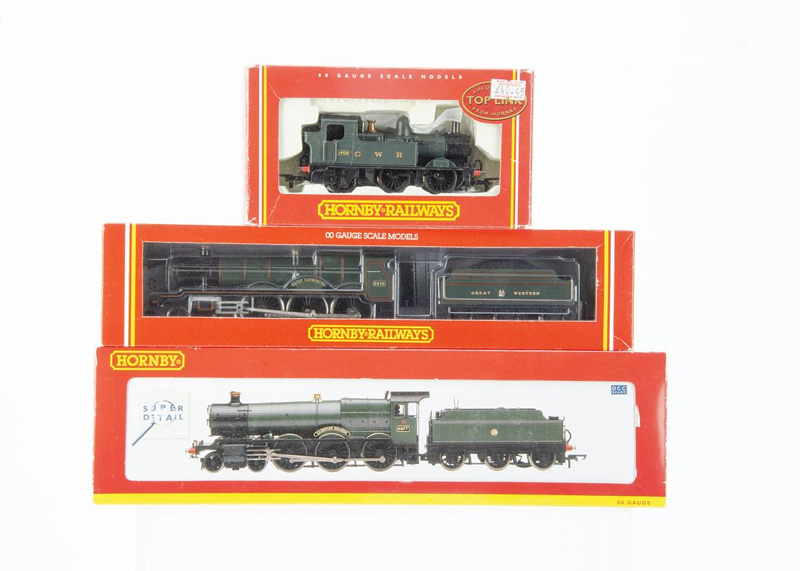 Hornby (Margate & China) 00 Gauge GWR green Steam Locomotives, R141 4-6-0 Saint Class 2918 'Saint