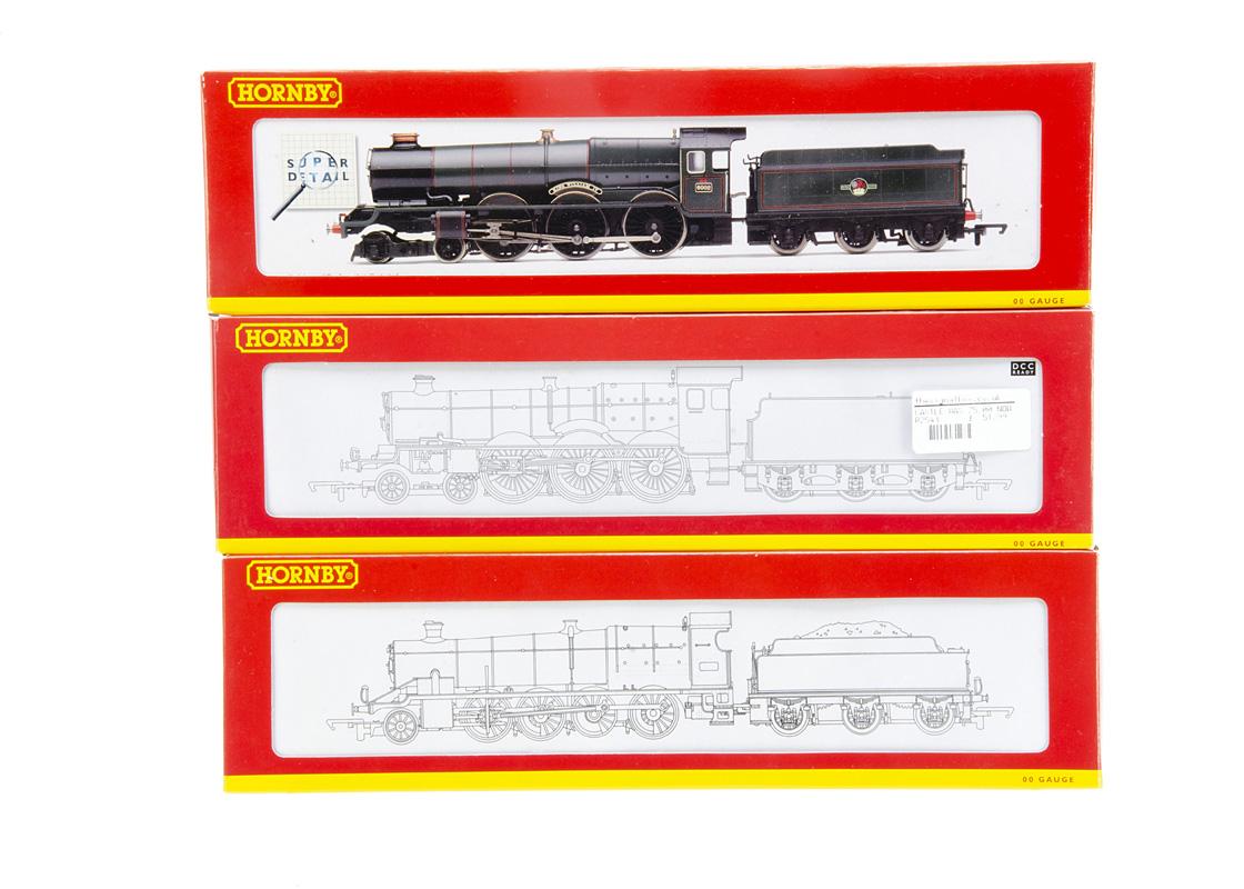 Hornby 00 Gauge GWR and BR ex GWR Steam Locomotives, R2464 GWR green 2800 Class 2847, R2234 BR green