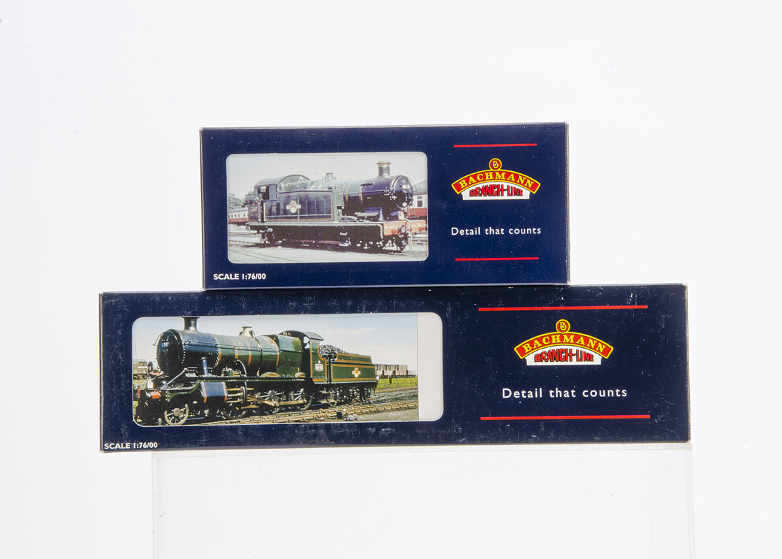 Bachmann 00 Gauge BR black Class 43XX and 56XX Steam Locomotives, 32-079 BR black 0-6-2 Class 56XX