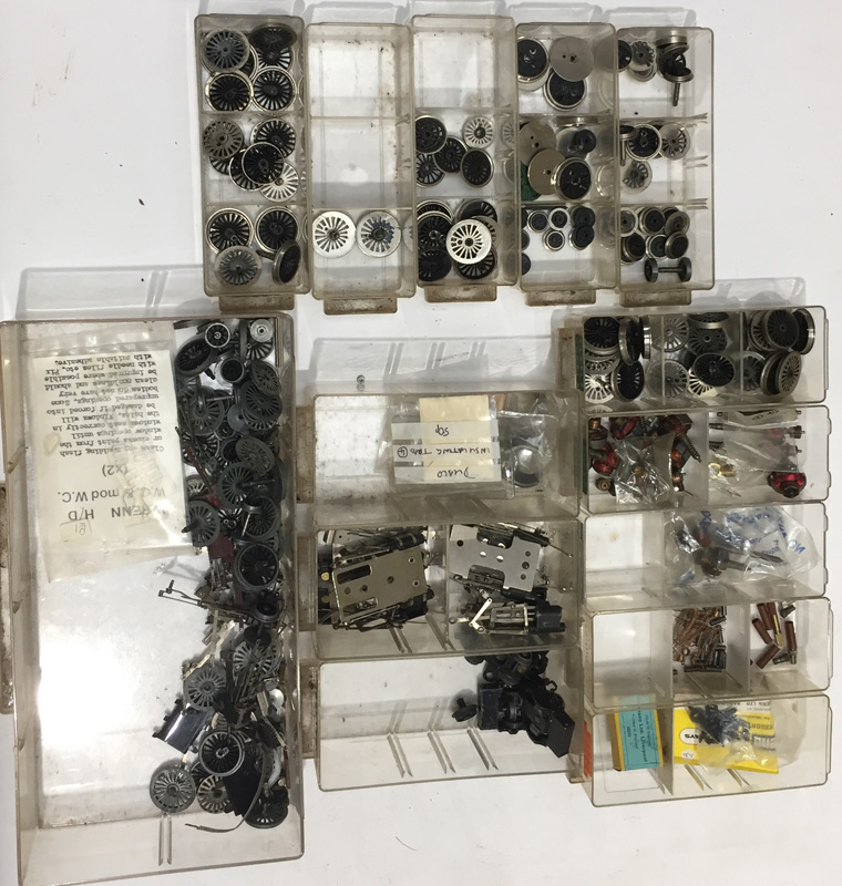 A Quantity of Hornby-Dublo/Wrenn 00 Gauge Locomotive Spares, including various types of armature ( - Image 2 of 2