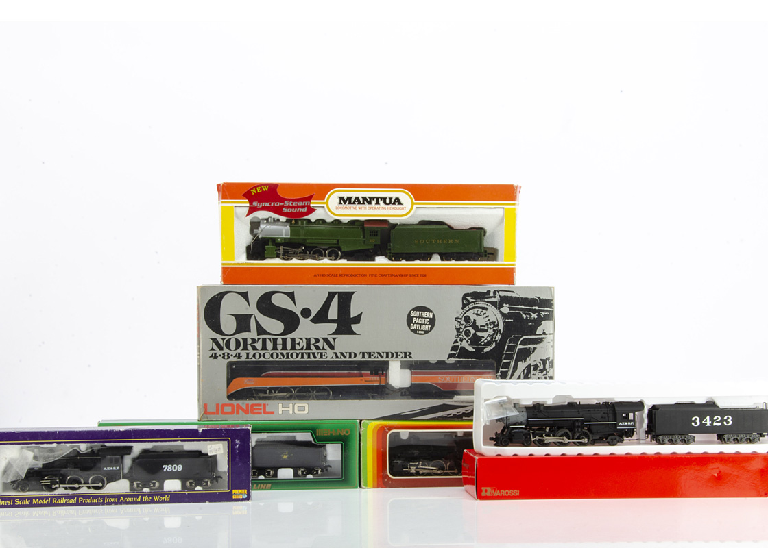 American HO Gauge Steam Locomotives and Tenders by various makers, Lionel GS.4 Northern 4-8-4