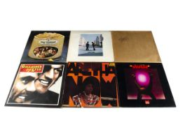 LP Records, approximately fifty albums of various genres with artists including The Beatles, Led