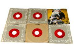 """Sixties / Columbia 7"""" Singles, approximately one hundred and twenty-five singles, mainly USA"""