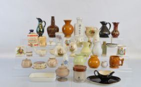 A large quantity of assorted ceramics, including Royal Art Pottery, Jersey, Ridgways, Royal