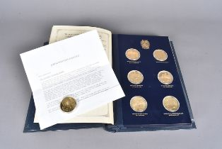 A Churchill Centenary Trust collection of John Pinches Centenary medals, commemorating the 100th
