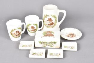 A Scarce Royal Doulton Winston Churchill trinket box, complete with four internal dishes, together