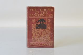 """Doyle (Sir Arthur Conan) Hound Of The Baskervilles, first edition with page 13 line 3 mistake, """"you"""""""