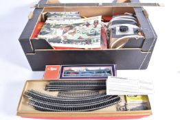 Hornby 00 Gauge Freight Set and Accessories including Lima and Wrenn, Hornby, R178 Rail Freight