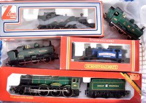 Hornby and Lima 00 Gauge Steam Locomotives, Hornby, R759 GWR green 'Albert Hall' (box lacks