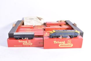 Tri-ang 00 Gauge Locomotives and Rolling Stock, R259S 'Britannia' (covered in deteriorated yellow