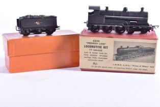 A GEM TT Gauge 'Premier Line' kitbuilt BR ex LNWR (LMS) Princes of Wales Class 4-6-0 Locomotive
