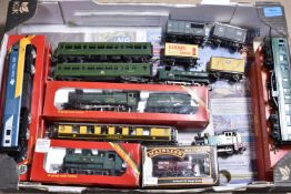Tri-ang and Hornby and other makers 00 Gauge Locomotives Diesel Railcars Coaches and Freight