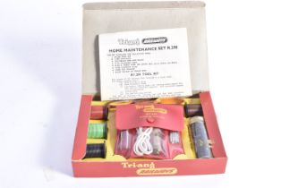 Tri-ang 00 Gauge R 298 Home Maintenance Set, comprising RT 209 Tool Kit, 4 Drums of wire, packet