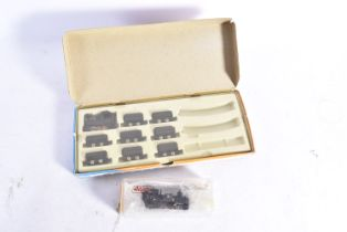 Roco and Liliput 009 00 Gauge Locomotive and Rolling Stock, Roco 4003 Quarry Set comprising 0-6-0