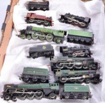 Hornby 00 Gauge Steam Locomotives, LNER green 4472 'Flying Scotsman', BR black Ivatt 2-6-0 46400, BR