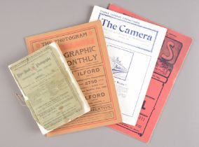 Photographic Literature, magazines, including Focus, 1906, 1907 (2), The Photographic Monthly,